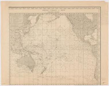 Streams, currents and drifts in the Pacific Ocean : mainly from the British Admirality chart No. 2640