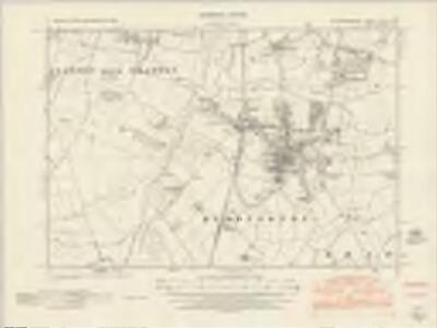 Nottinghamshire XLVI.NW - OS Six-Inch Map