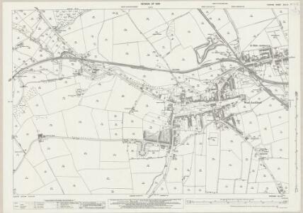 Durham XLII.9 (includes: Bishop Auckland; Etherley) - 25 Inch Map