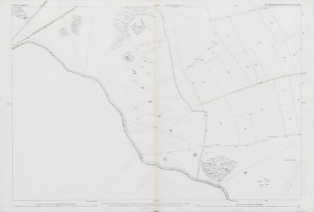 Wiltshire LXXV.7 (includes: Martin; Pentridge) - 25 Inch Map