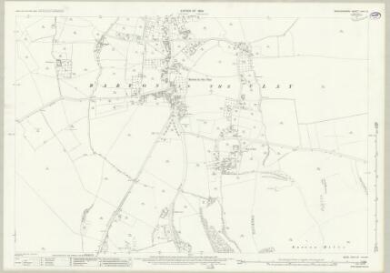 Bedfordshire XXVI.13 (includes: Barton in The Clay; Streatley) - 25 Inch Map