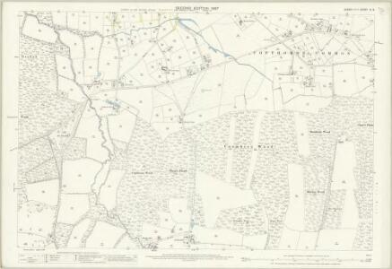 Sussex IV.6 (includes: Worth) - 25 Inch Map