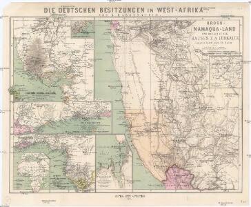 Gross-Namaqua-Land und das Gebiet des Hauses F.A. Lüderitz