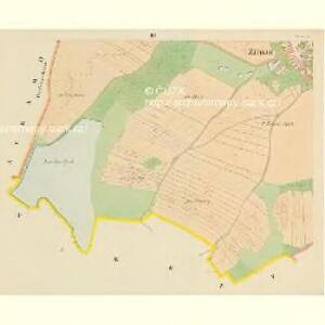 Zirnau - c1574-1-003 - Kaiserpflichtexemplar der Landkarten des stabilen Katasters