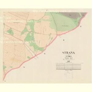 Strana - c7384-1-004 - Kaiserpflichtexemplar der Landkarten des stabilen Katasters