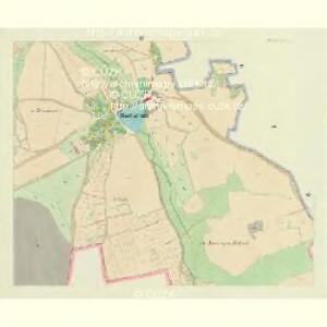Hortschitz (Horczice) - c2192-1-003 - Kaiserpflichtexemplar der Landkarten des stabilen Katasters