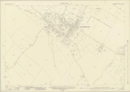 Oxfordshire XLVII.14 (includes: Britwell; Pyrton; Watlington) - 25 Inch Map