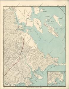 Hammods Atlas of New York City and the metropolitan district
