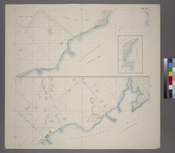 Sheet 38: Grid #26000E - 30000E, #3000N - 7000N. [Includes Eastchester Bay, Pelham Bay Park [Country Club], Town Dock Road, East Road, South Road and North Road.]
