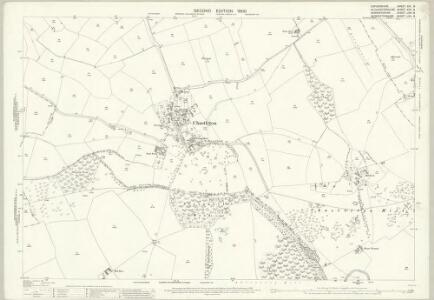 Oxfordshire XIII.8 (includes: Adlestrop; Chastleton; Evenlode; Little Compton) - 25 Inch Map