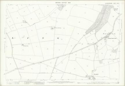 Gloucestershire XXVIII.5 (includes: Guiting Power; Haselton; Hawling; Naunton; Notgrove) - 25 Inch Map
