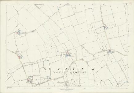 Suffolk XVII.7 (includes: Bungay; Flixton; Ilketshall St Margaret; South Elmham St Michael; South Elmham St Peter) - 25 Inch Map