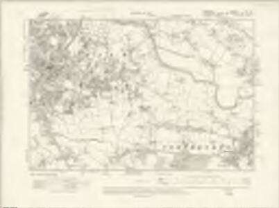 Cheshire IX.SE - OS Six-Inch Map