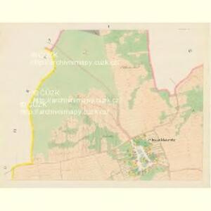 Straschkowitz - c7403-1-001 - Kaiserpflichtexemplar der Landkarten des stabilen Katasters