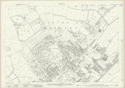 Nottinghamshire XLI.12 (includes: Beeston And Stapleford; Nottingham) - 25 Inch Map