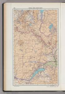 172.  Central Africa Mining Region.  The World Atlas.