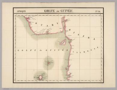 Golfe du Guinee. Afrique 36.