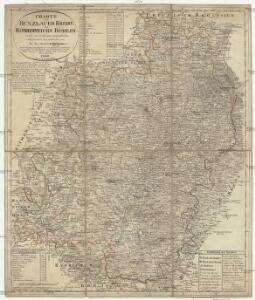 Charte vom Bunzlauer Kreise des Königreiches Böheim