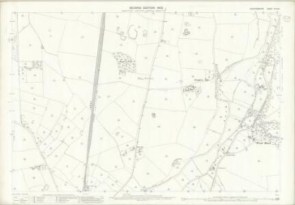 Staffordshire XLIV.15 (includes: Dunston; Penkridge; Teddesley Hay) - 25 Inch Map