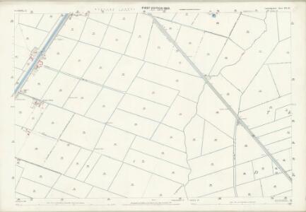 Cambridgeshire XVI.15 (includes: Manea; Wimblington) - 25 Inch Map