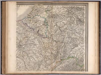 Frankreich. Upper right sheet