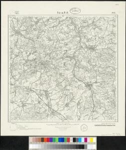 Meßtischblatt 2152 : Bösingfeld, 1932
