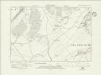 Wiltshire XXXVII.SW - OS Six-Inch Map