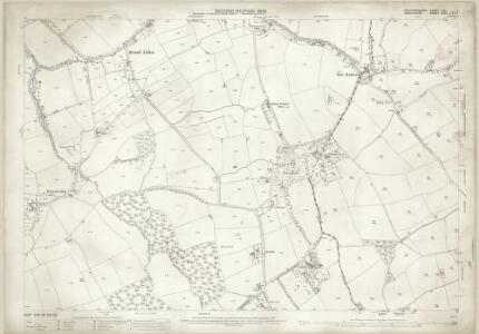 Staffordshire LXX.1 (includes: Alveley; Bobbington; Claverley; Enville; Quatt Malvern) - 25 Inch Map