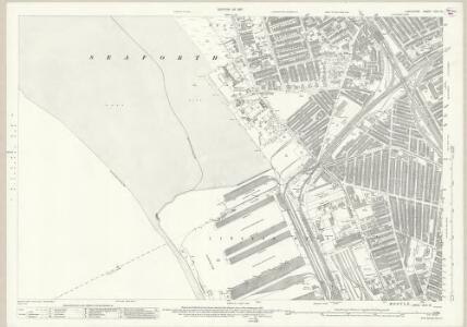 Lancashire XCIX.13 (includes: Bootle Cum Linacre; Litherland; Seaforth; Waterloo) - 25 Inch Map