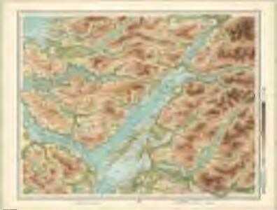 Oban, Fort William - Bartholomew's 'Survey Atlas of Scotland'