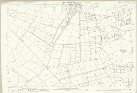 Somerset XXVI.4 (includes: Axbridge; Cheddar; Compton Bishop; Weare) - 25 Inch Map