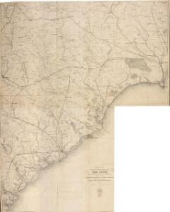 Part of the Military Department of The South, embracing portions of Georgia and South Carolina. [Eastern Part]
