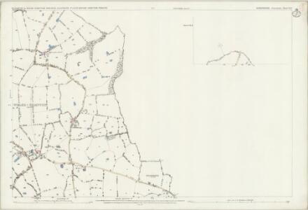 Shropshire VI.12 (inset VI.8) (includes: Bettisfield; Ellesmere Rural; Halghton; Hanmer; Penley; Welshampton) - 25 Inch Map