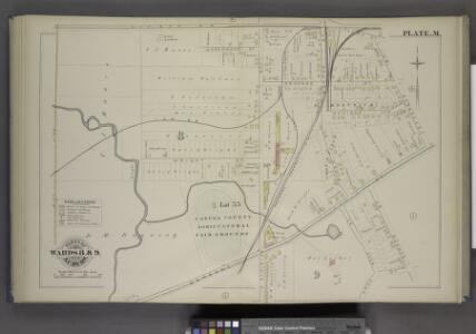 Parts of the City Auburn. Wards 8& 9.