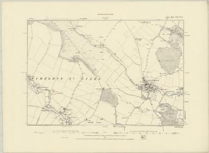 Dorset XVI.SE - OS Six-Inch Map