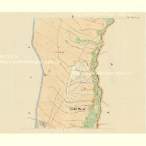 Nieder Morau (Dolny Morawa) - c1345-1-002 - Kaiserpflichtexemplar der Landkarten des stabilen Katasters