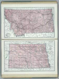Montana.  North Dakota.