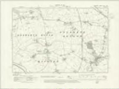 Cheshire XLVII.SW - OS Six-Inch Map