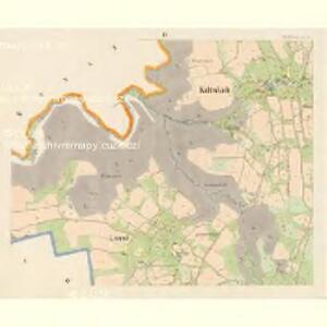 Kaltenbach - c7509-2-003 - Kaiserpflichtexemplar der Landkarten des stabilen Katasters