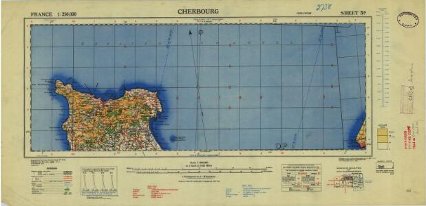 France 1:250,000, Cherbourg