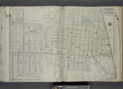Part of Wards 1 & 3. [Map bound by College Ave (Indiana), Jewett Ave, Richmond Turnpike, Byrne Ave, Kell Ave, Ingram Ave, Caswell Ave, Willowbrook Road, Watchogue Road (Butcherville RD), Vedder Ave]; Atlas of the city of New York, borough of Richmond, Staten Island. From actual surveys and original plans, by George W. and Walter S. Bromley.