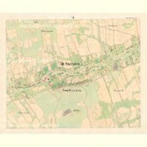 Alt Starzitz (Stary Stařic) - m2878-1-006 - Kaiserpflichtexemplar der Landkarten des stabilen Katasters