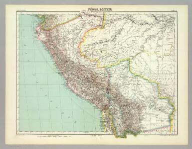 Perou, Bolivie.