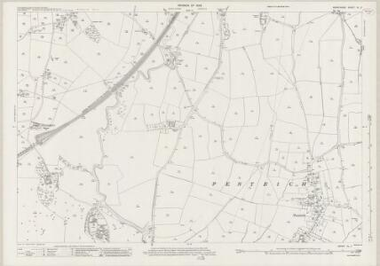 Derbyshire XL.2 (includes: Heage; Pentrich; South Wingfield) - 25 Inch Map