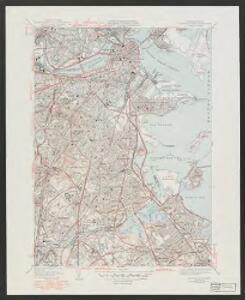 Boston South quadrangle, Massachusetts