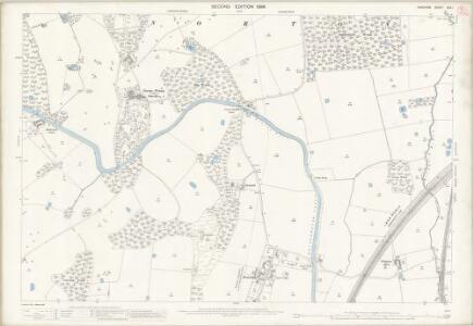 Cheshire XXV.1 (includes: Halton; Norton) - 25 Inch Map