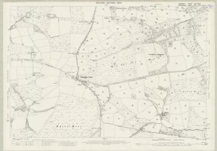 Somerset LXVII.9 & 13 (includes: Brushford; Dulverton; East Anstey; Oakford) - 25 Inch Map