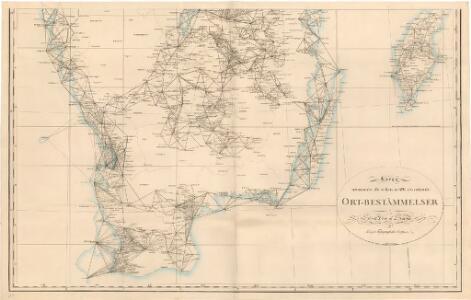 Trigonometrisk grunnlag, vedlegg 64a: Ort-Bestämmelsen i Södra Delen af Swerige