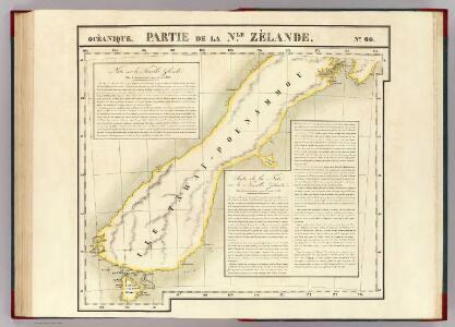 Partie, Nle. Zelande. Oceanique no. 60.