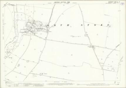Oxfordshire LII.3 (includes: Checkendon; Cholsey; Crowmarsh; Ipsden) - 25 Inch Map
